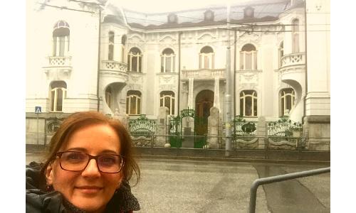 Spomienka na výlet do mesta Žilina