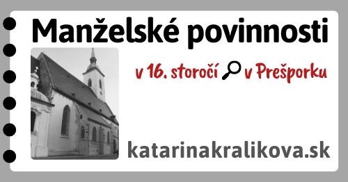 2020-Manželské povinnosti v 16.storočí v Prešporku