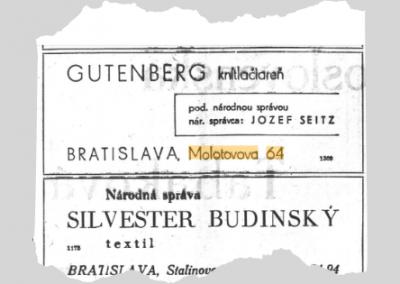 Dňa 01.05.1948 uverejnil Denník pravda, str. 34
