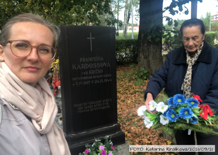 """""""Pani Kardossová mala vždy celý dom voňavý,"""" spomína 85-ročná pani Božena"""