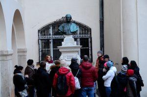 František Floriš Rómer busta muzeum BA FOTO Katarína Králiková